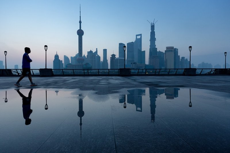 Архитектура Дубая и Шанхая в фотографиях Йенса Ферстерра - №2