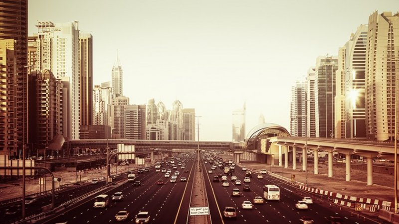 Архитектура Дубая и Шанхая в фотографиях Йенса Ферстерра - №6