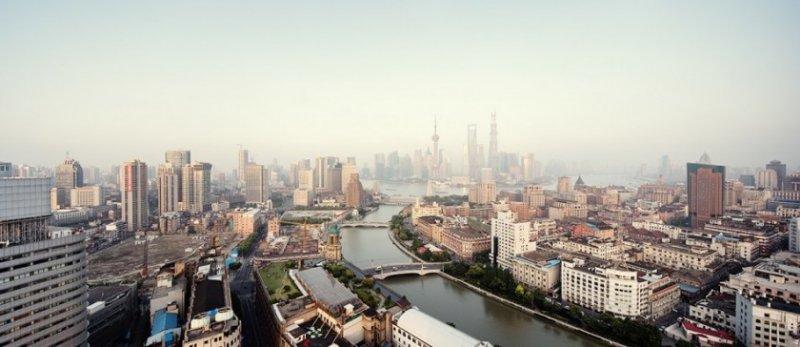 Архитектура Дубая и Шанхая в фотографиях Йенса Ферстерра - №8