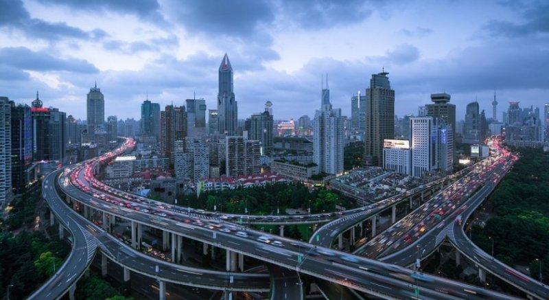 Архитектура Дубая и Шанхая в фотографиях Йенса Ферстерра - №9