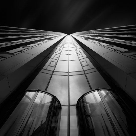 Архитектура Дубая и Шанхая в фотографиях Йенса Ферстерра - №14