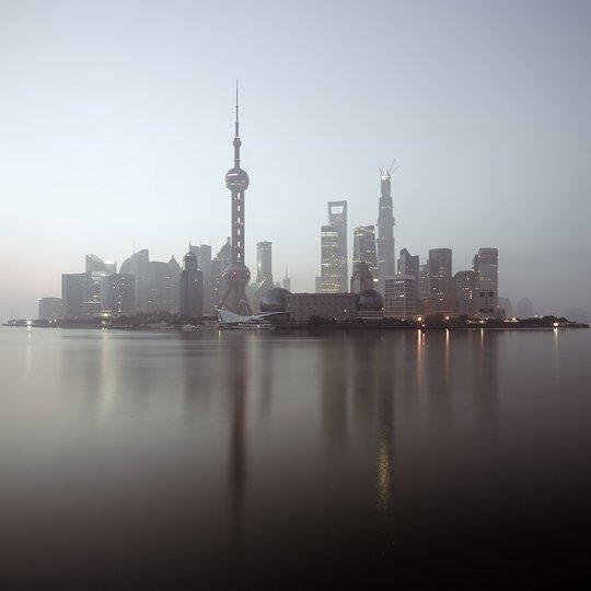 Архитектура Дубая и Шанхая в фотографиях Йенса Ферстерра - №11