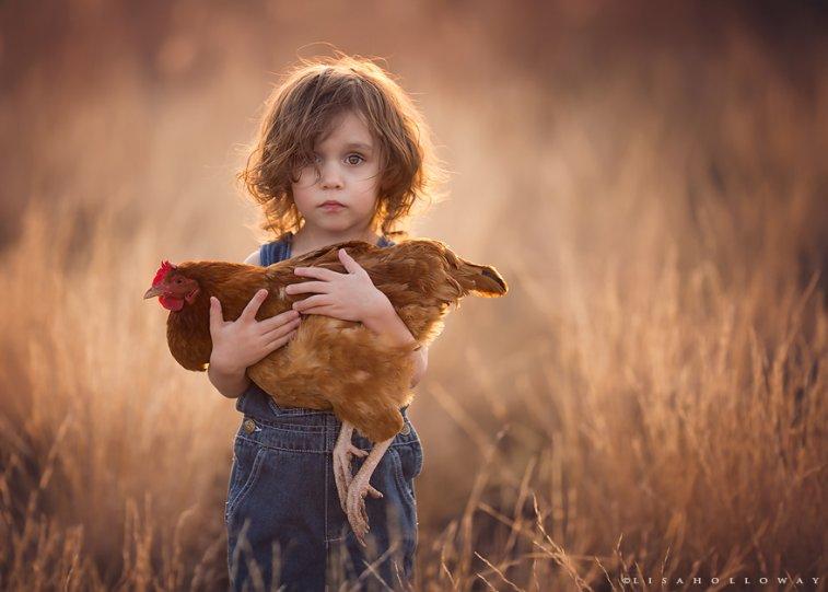 Детские образы в фотографиях Лизы Холлоуэй - №3