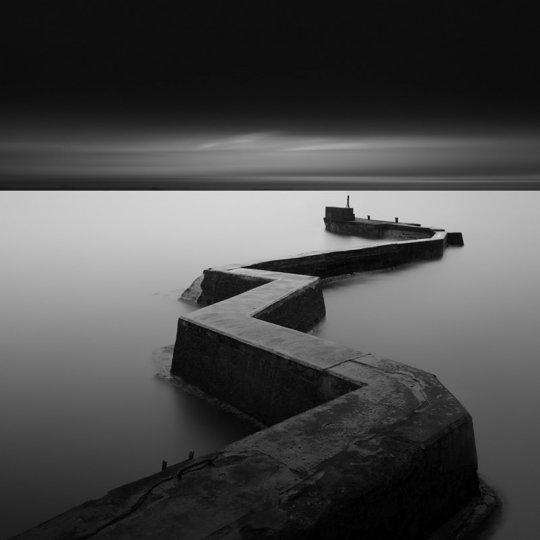 Чёрно-белые пейзажи Гэвина Данбара - №14