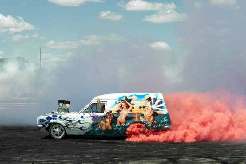 Захватывающие кадры с Burnout Competition - №20