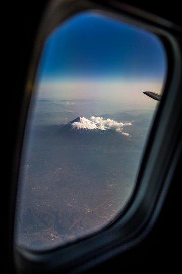 Вид из окна самолета - №24