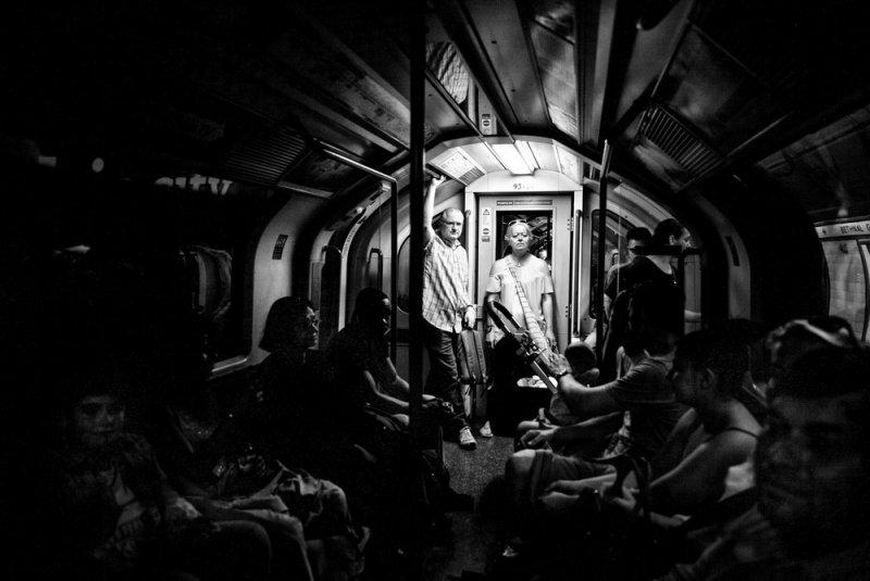 Уличный фотограф и журналист Алан Шаллер - №18