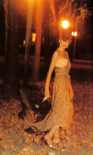 Модель Джиа Каранджи в фотографиях 1970-80-х годов - №3