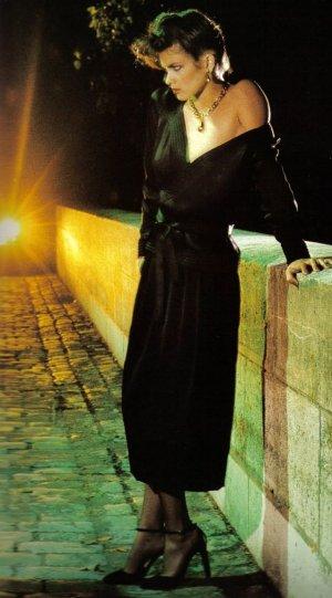 Модель Джиа Каранджи в фотографиях 1970-80-х годов - №5