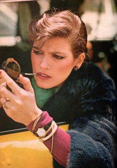 Модель Джиа Каранджи в фотографиях 1970-80-х годов - №11