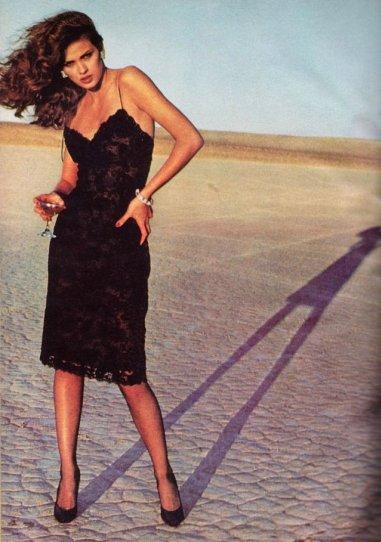 Модель Джиа Каранджи в фотографиях 1970-80-х годов - №13