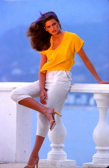 Модель Джиа Каранджи в фотографиях 1970-80-х годов - №15