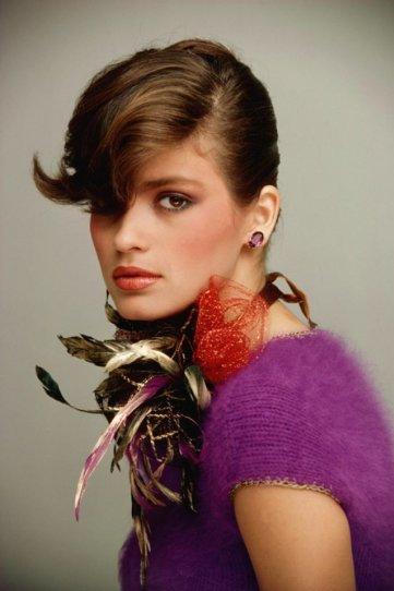 Модель Джиа Каранджи в фотографиях 1970-80-х годов - №17