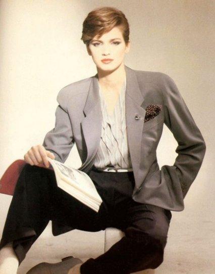 Модель Джиа Каранджи в фотографиях 1970-80-х годов - №19
