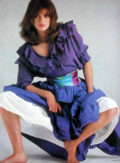Модель Джиа Каранджи в фотографиях 1970-80-х годов - №31