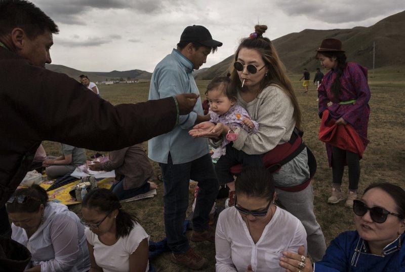 Фоторепортаж: шаманские ритуалы Монголии - №2