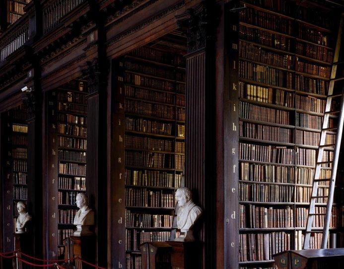 Библиотека Тринити-коллежда. Дублин, Ирландия.