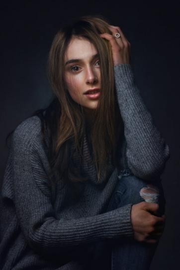 Женская красота в работах Захара Райза - №15