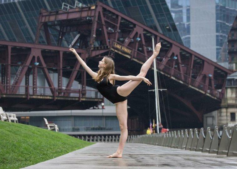 Балерины на улицах - №4