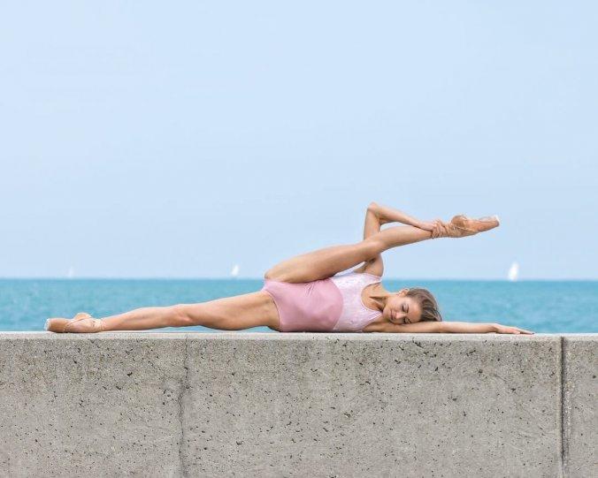 Балерины на улицах - №17
