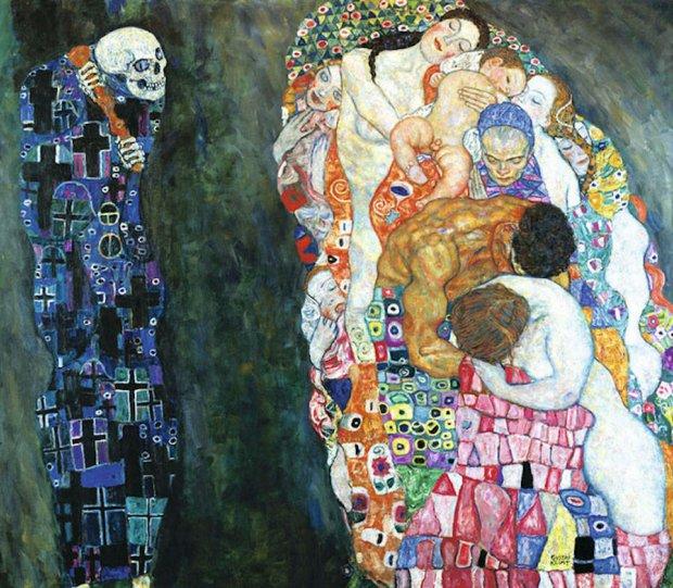 Модели воссоздают картины Гюстава Климта - №1