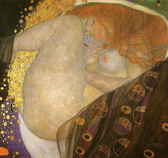 Модели воссоздают картины Гюстава Климта - №9