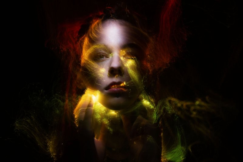Портреты втехнике световой кисти - №14