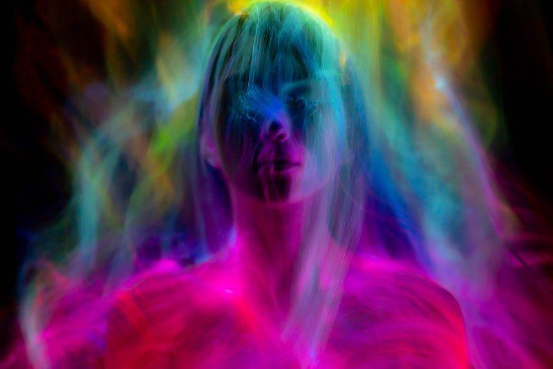 Портреты втехнике световой кисти - №16