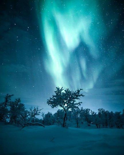 Красота северного сияния - №6