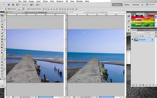 Как создать 3D эффект в Photoshop - №3