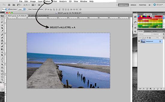 Как создать 3D эффект в Photoshop - №4
