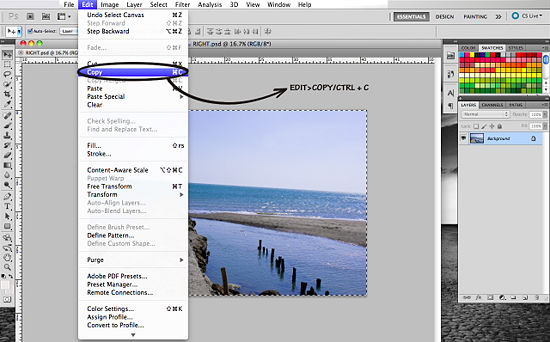 Как создать 3D эффект в Photoshop - №5