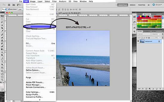 Как создать 3D эффект в Photoshop - №7