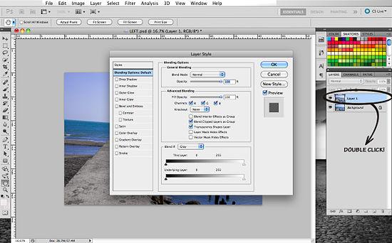 Как создать 3D эффект в Photoshop - №9