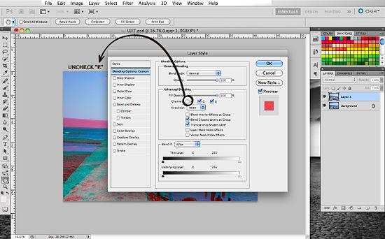 Как создать 3D эффект в Photoshop - №10