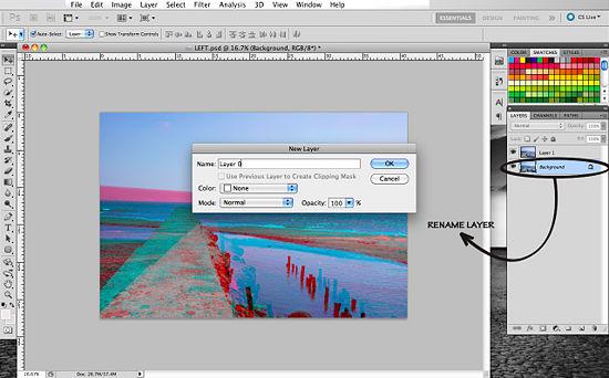 Как создать 3D эффект в Photoshop - №11
