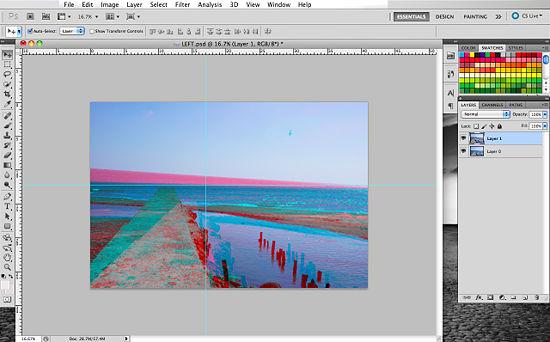 Как создать 3D эффект в Photoshop - №13