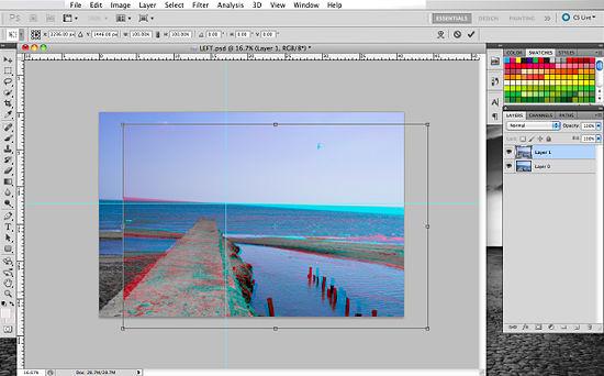 Как создать 3D эффект в Photoshop - №14