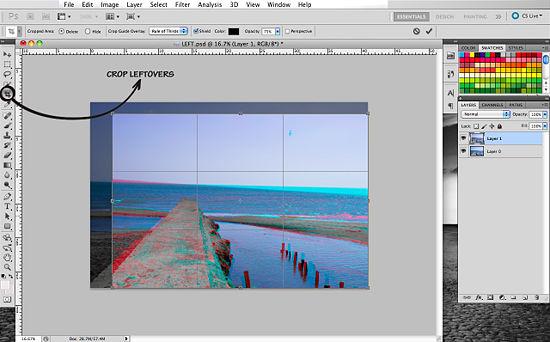 Как создать 3D эффект в Photoshop - №15