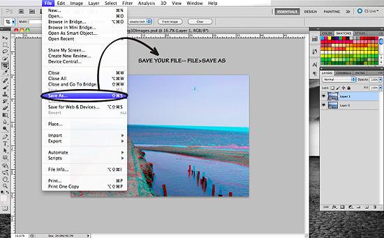 Как создать 3D эффект в Photoshop - №16