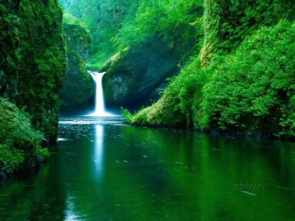 ТОП фото водопадов