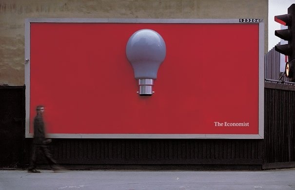 ТОП фото. Реклама The Economist