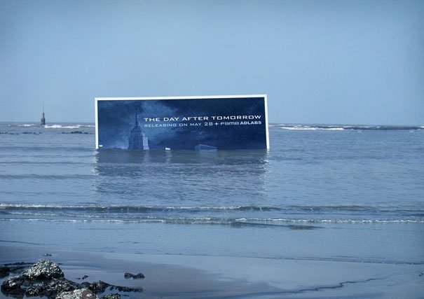 ТОП фото. Реклама фильма «Послезавтра»