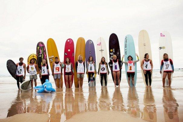 Итоги фестиваля женского серфинга Roxy PRO 2012. - №1