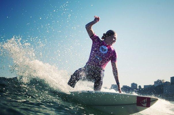 Итоги фестиваля женского серфинга Roxy PRO 2012. - №14