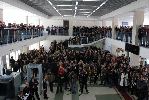 аэровокзал Горно-Алтайск изнутри