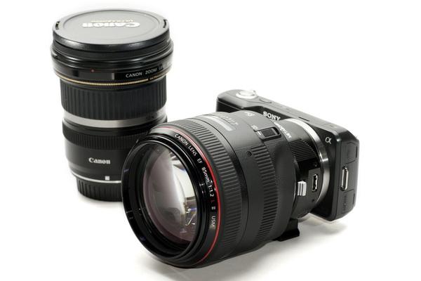 купить адаптер canon eos для sony nex