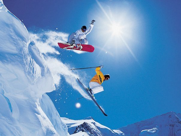Как фотографировать людей на сноубордах и горных лыжах - №4