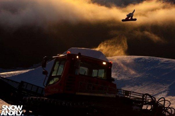 Как фотографировать людей на сноубордах и горных лыжах - №6