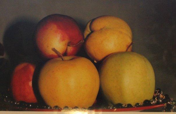 фотоэтюд с яблоками